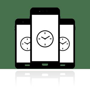 wall clocks in an iphone world