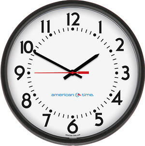 AllSync Molded Analog Clock